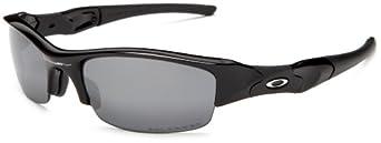 Oakley Men's Flak Jacket Polarized Sunglasses,Jet Black Frame/Black Lens,One Size