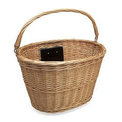 Electra Wicker Quick Release Bicycle Basket