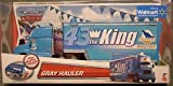 Disney Cars Gray Hauler the King with Bonus Radiator Springs King Car Both Ex...