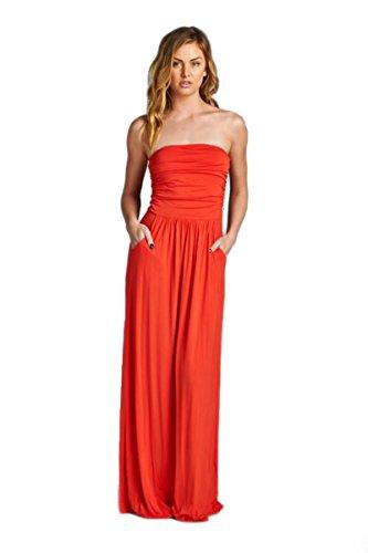 Vanilla Bay Solid Maxi Dress