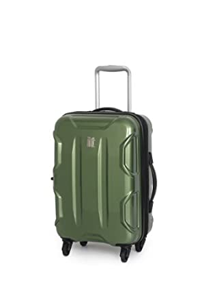 IT Luggage Victoria 20 Inch Carry On, Green, One Size