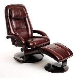 Swivel Recliner And Ottoman front-1060511