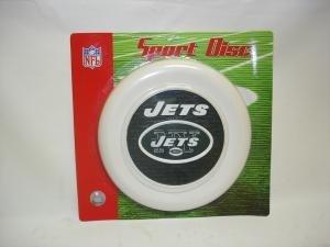 New York Jets Sport Disc Licensed NFL Frisbee Dog Toy