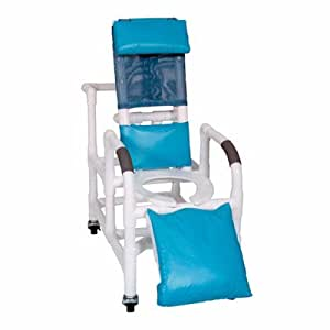 Pediatric Reclining Shower Chair Color: Mauve