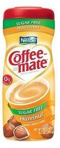 Coffee-Mate, Sugar Free Hazelnut, Powdered Coffee Creamer, 10.2Oz Canister (Pack Of 2)