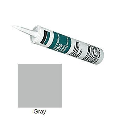 Gray Dow Corning 795 Silicone Building Sealant - 12 Tubes (Case) (Dow Corning 795 Gray compare prices)