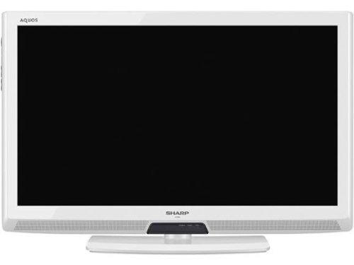 SHARP LEDAQUOS 32型 地上・BS・110度CSデジタルハイビジョン液晶テレビ LC-32V5-W ホワイト系