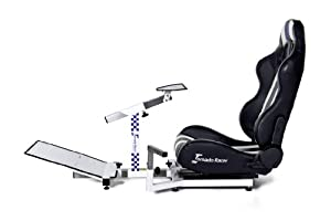 Tornado-Racer Racing Seat Driving Simlator Gaming Chair PS3, PS2, Xbox 360, PC, all video game platforms compatible by Tornado-Racer