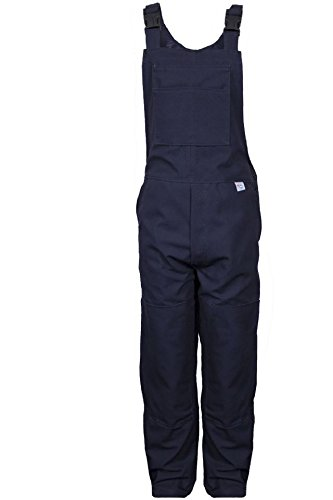 National Safety Apparel BIB6DNV36X32 Deluxe Unlined Bib Overall, 36