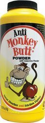 Anti-Monkey Butt Sweat Absorber and Friction Fighter Powder, with Calamine Powder, 6 oz.