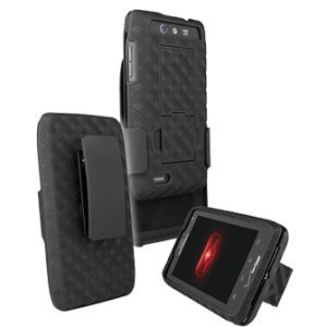 Motorola Droid 4 Shell Holster Combo with Stand XT894 - Verizon Original by Motorola