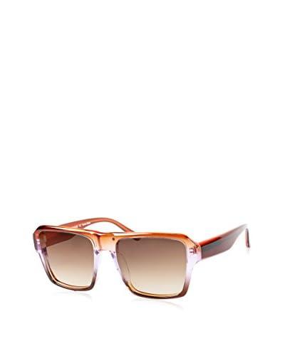 Ivory + Mason Men's DCT007 Marlon Sunglasses, Red/Purple