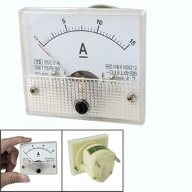 Why Choose The 85C1 DC 0-15A Rectangle Analog Panel Ammeter Gauge