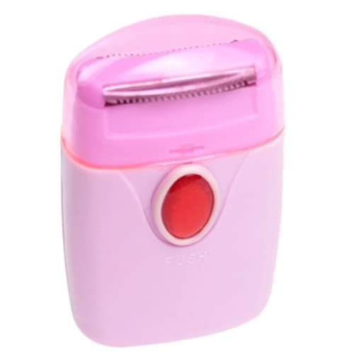 niceeshop(TM) Painless Palm Size Bikini Kit Electric Cordless Lady Shaver,Pink