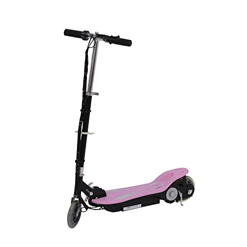 Electric 120W Kids Motorized Riding E Scooter - Pink