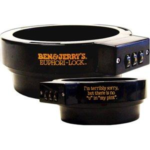 Ben & Jerry'S Euphori-Lock Ice Cream Pint Combination Lock Protector
