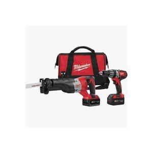Milwaukee 2694-22 M18 18-Volt Cordless 2-Tool Combo Kit