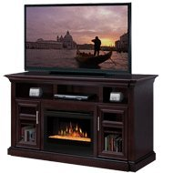 Dimplex Bailey 65-inch Electric Fireplace Media Console With Glass Embers - Espresso - Gds25g-1242e picture B009IITPGK.jpg