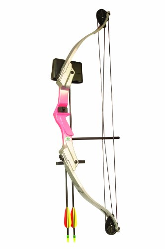 Arrow Precision Girl Power Pink Camo Youth Archery Set (20-Pounds)