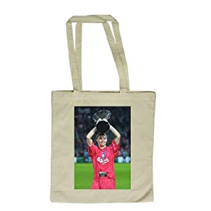Steven Gerrard - Long Handled Shopping Bag by art247clothing