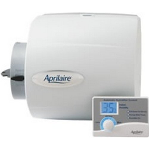 Aprilaire 500 Humidifier, 24V Whole House Humidifier w/ Auto Digital Control Bypass Damper .5 Gallons/ hour - 1