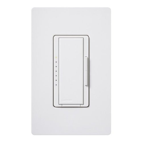 Lutron Maestro MRF2-6CL-WH - Wireless Dimmer - 150 Watt Max. - Multi-Location - For Incandescent CFL and LED Lamps - White