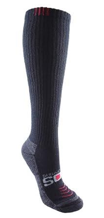 Sugar Free Sox Ladies Athletic Compression Socks With CircoP sock Size 9-11 by Sugar Free Sox