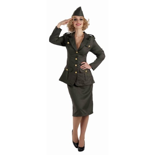 WWII Army Gal Adult Costume