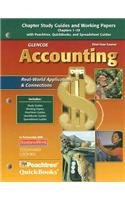 Glencoe Accounting: First Year Course, Chapters 1-29, Working Papers (GUERRIERI: HS ACCTG)