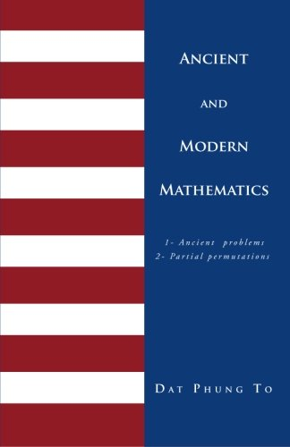 Ancient and Modern Mathematics: The Partial Permutations