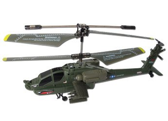 Syma S109G Apache AH-64 3-Channels Mini Indoor Helicopter