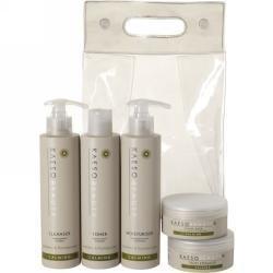 Kaeso Calming Facial Kit (Includes Calming Mask, Calming Exfoliator, Calming Cleanser, Calming Toner & Calming Moisture)