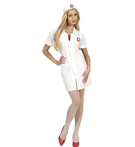72022 Kostüm Krankenschwester, Kleid und Haube, Größe M