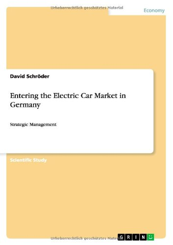Entering The Electric Car Market In Germany