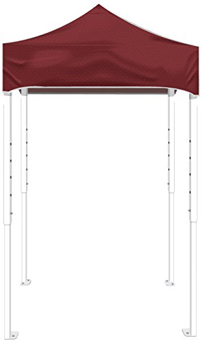 Kd Kanopy Ps25M Party Shade Steel Frame Indoor/Outdoor Portable Canopy, 5 By 5-Feet, Maroon