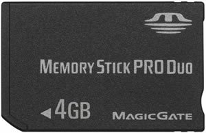Brand New 4GB Pro Duo Memory Card for your Sony Ericsson D750i , K750i , P910i , P990i , V800 , W700i , W800i , W810i , W850i , W900i , Z800i Mobile Phone! Comes with Adaptor