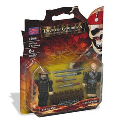 Pirates of the Caribbean: Sao Feng & Tai Huang Figure 2-Pack