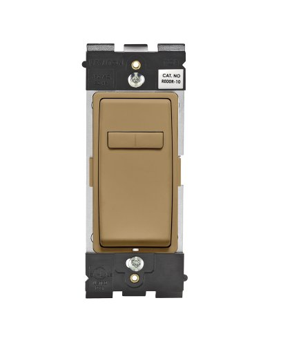 Leviton Renu RE00R-WC Coordinating Dimmer Remote for 3-Way or Multi-Location Control, for use with REI06 (Warm Caramel)
