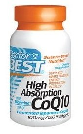 Doctor's Best High Absorption Coq10 w/ BioPerine (100 mg), 240 Softgels - All Your Health Needs® from Doctor's Best
