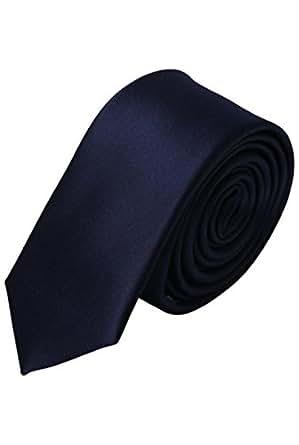 Cravate fine de cérémonie pour homme - Bleu - Unique