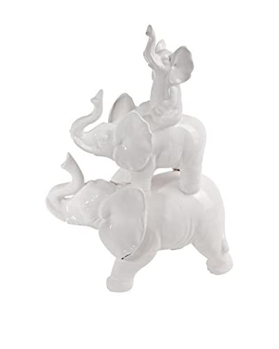 Donny Osmond Home Elephant, White