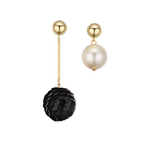 elufly-different-love-placcato-oro-orecchini-pendenti-lunghi-con-perle-base-metal-colore-black-cod-e