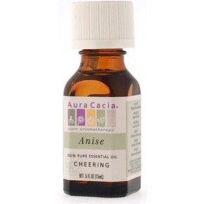 Essential Oil Anise (pimpinella anisum) .5 fl oz from Aura Cacia