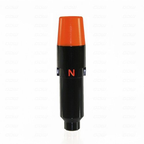 Sleeve Adapter For Cobra Amp / Zl / S2 / S3 Woods Black/Orange - 0.335 W/Out Bolt