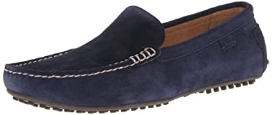 Polo Ralph Lauren Men's Woodley Slip-On Loafer,Navy,8.5 D US