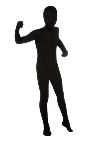 Skin Suit Kids Costume Black