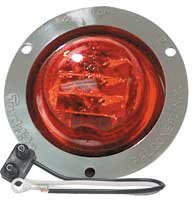 Truck-Lite 8-Led 10-Series Pc Rated High Profile Clearance Lamp, Red
