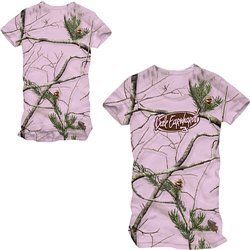Chase Authentics Dale Earnhardt Ladies REALTREE(r) Color Camo Short Sleeve Tee - Dale Earnhardt Extra Large