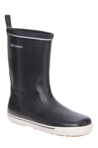 Tretorn Skerry Metallic Low Heel Mid Calf Rain Boot