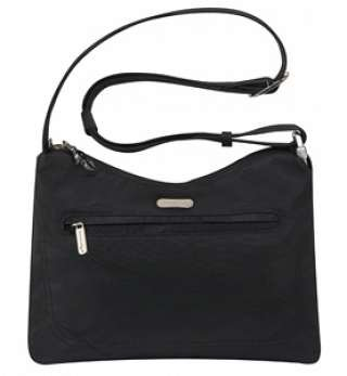 Anti-Theft Hobo Bag - Black
